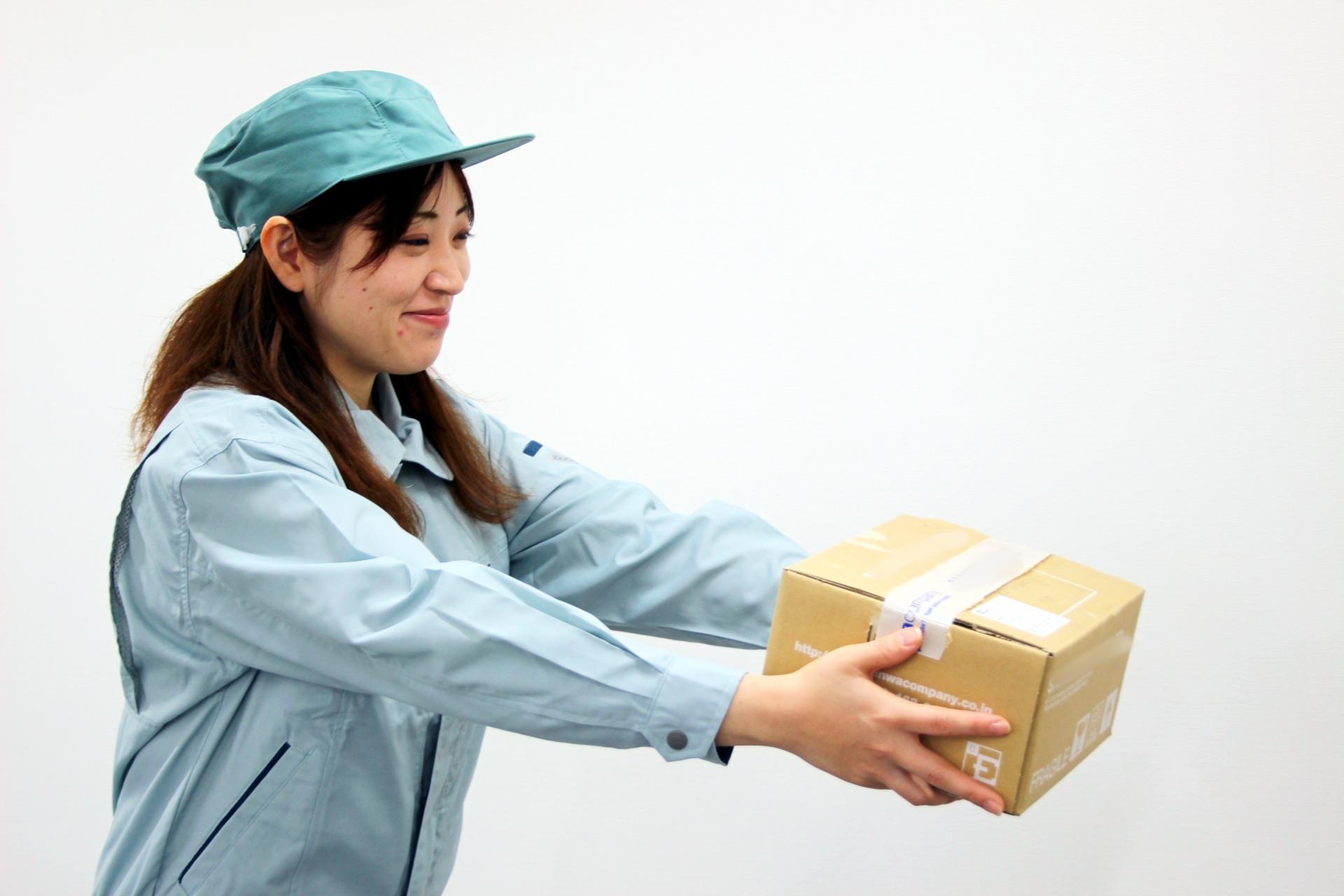 【東京都品川区】パスタ等の食料品の検品や仕分け作業
